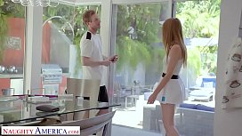 Naughty America - Tennis Instructor Gets Lucky And Fucks His Client Ashley Lane