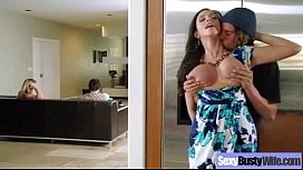 Sex Tape With Busty Naughty Housewife (ariella ferrera) video-05