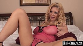 Horny Big Tit MILF Charlee Chase In Bed!