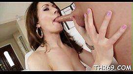 Beautiful mom showed nechayno tits son porn