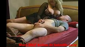 Horny MILF Sucks And Fucks Her Step Son &ndash More MILF Action At hotmi onr