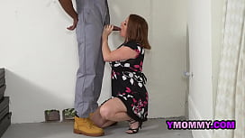 Chubby Juicy Amateur milf takes 2 blacks