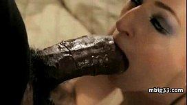 Horny Cutie Loving Her Sum Black Dick