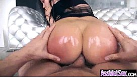 Oiled Big Ass Girl aleksa nicole Take It Deep In Her Behind On Camera clip