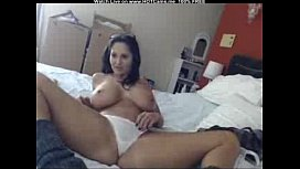 Gorgeous Brunette MILF With Big Tits Toys Fun