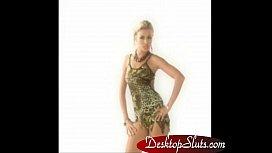 DesktopSlutscom Virtua iStripper Desktop Stripper Hot Blond Babe