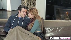 Babes - Step Mom Lessons - Cozy By the Fire starring Jay Smooth and Christiana Cinn and Jasmine Jae