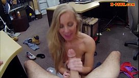 Tight amateur blonde slut sells her car and gets fucked