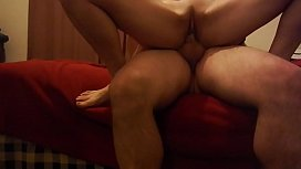 neighbor wife comes over for creampie