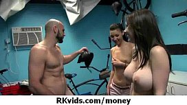 Gorgeous teens getting fucked for money 43