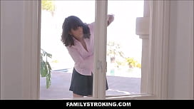 Step Mom Amber Chase Stuck And Fucked By Both Sons