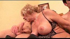 Big Tits Hairy MILF gets POV 17