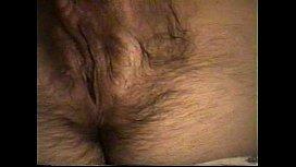 Wife Masturbates Hairy Pussy