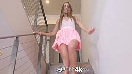 Tiny4K House warming fuck and creampie with skinny Kimmy Granger