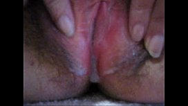 Close-up my wet hairy pussy