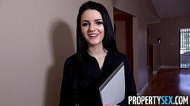 PropertySex - Careless real estate agent fucks boss to keep her job lesbian mgp