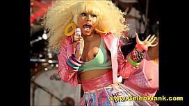 Nicki Minaj Shaking Her Big Nude Tits