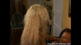 Crazy Wild Dutch Blonde Fantasy