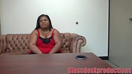 BBW ebony sucked me dry