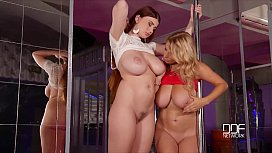 Sex in the Strip Club - Big Titty Glamour Strippers get Wild!