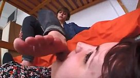 Foot Slave Fetish French couple