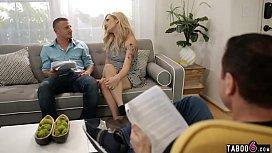 Producer and actor DP fuck blonde actress Dahlia Sky