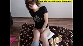 masturbate under my white panties