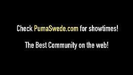 JackOff JackPot! Puma Swede &amp_ Nikki Benz Cum Swap!