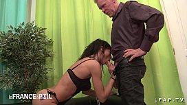 st Casting anal mature francaise en lingerie avec bonne ejac sur le corps