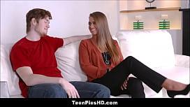 Teen Stepsister Creampied