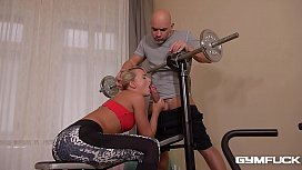 Fitness Slut Victoria Pure Deep Anal & DP Fuck Training