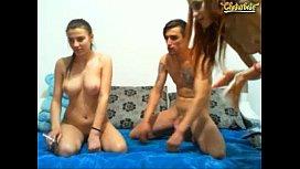 Sp1cy Sugar Amazing Body FFM Threesome On Chaturbate Webcam