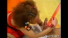 Seductive latin brunette young Dizzy gets cunny fingered