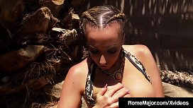 Rome Major Invites Richelle Ryan For BBQ &amp_ His Black Cock!