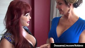 Mature Latina Sexy Vanessa StrapOn Fucked By Cougar Deauxma!