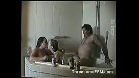 A Threesome with My Wife and her Friend in the Jacuzzi by threesomeffm.com xxx