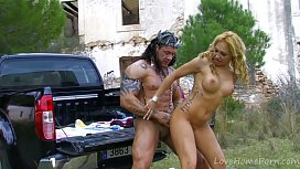 Fantasy Princess Takes On Muscled, Tattooed Strongman xxx video