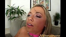 two white sluts share two big black dicks anal sex