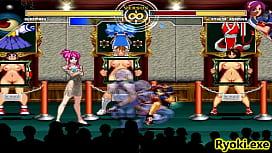 Kuromaru Vs Athena Asamiya The Queen of Fighters