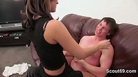 Sexy Skinny Teen has Date with Stranger Men and Fuck with Big Dick