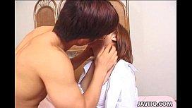 Sexy Ami Shono really wild blowjob