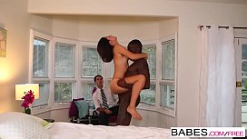 Babes - Black is Better - A Captive Audience  starring  Izzy Bell clip