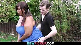 Fat black hottie is pounded by a golf coach jenna shea dildo