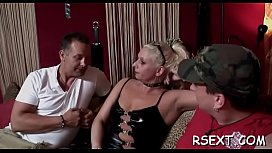 Horny fat mature hooker bonks her big pussy with a sextoy