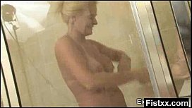 Superb Ass Fisting Mature Secretly Pounded