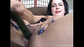 Mature amateur has a big orgasm xnxx image