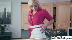 Kylie Page Hot Sexy Girl With Big Round Boobs In Sex Act In Office clip