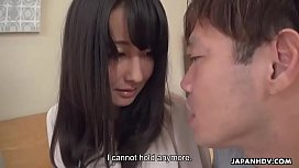 Japanese prostitute with small tits, Ayumi Iwasa got banged, uncensored