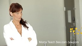 YouPorn Moms Teach Sex Horny mom teaches stepdaughter how to fuck