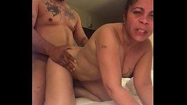 IG(@Mz.Juicy72) Hot Housewife blow job with hardcore doggystyle pounding action